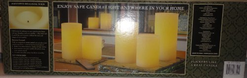 Flameless LED Candles - 7PK Remote Controlled, Realistic Wick & Vanilla Scented Wax