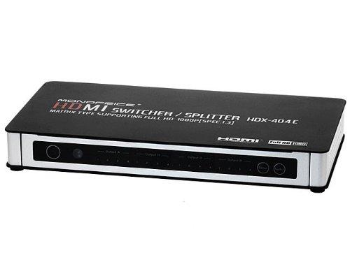 4X4 True Matrix Hdmi® Powered Switch W/ Remote (Rev. 3.0) Product No: 5704