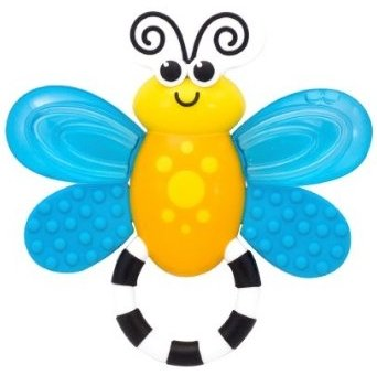 Sassy Flutterby Teether Developmental Toy, 2 Pack from Sassy