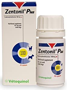 Zentonil Plus for Small Dogs & Cats 100mg (30 tablets) by Zentonil
