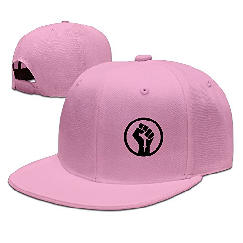 The Power Fist Icon Symbol Awesome Flat Bill Baseball Caps Cool Hat