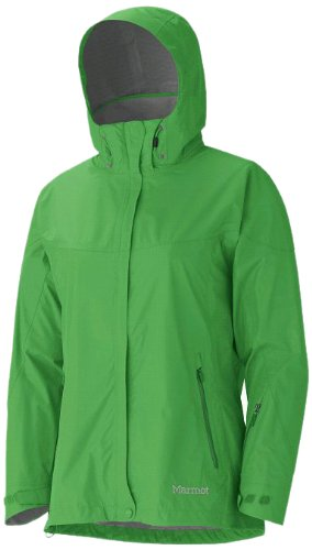 Marmot Women's Strato Waterproof Jacket - Bright Grass, Small