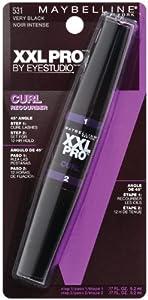 Maybelline New York XXL Curl Washable Mascara, Very Black 531, 0.34 Fluid Ounce