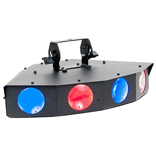 American DJ Monster Quad | 25 x 1W RGBAW Multi Color Built-In Programs LEDs (Monster Quad compare prices)