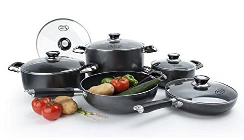 Cookware Sets - 7-piece Premium Quality Heavy Duty Double Nonstick cookware set By Basic Finds (Chef Trends Cookware Set compare prices)