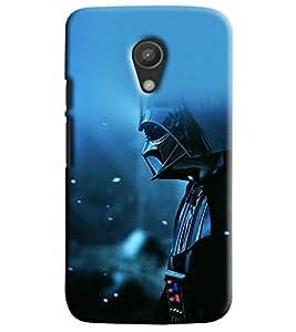 Blue Throat Man In Mask Printed Designer Back Cover/ Case For Motorola Moto G2