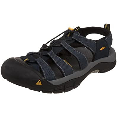 Keen Men's Newport H2 Sandal,Navy/Medium Grey,7.5 M US
