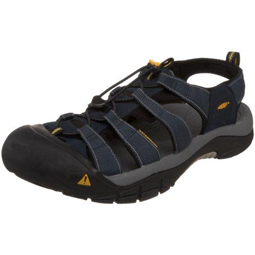 Keen Men's Newport H2 Walking Sandal,Navy/Medium Grey,10 M US