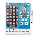 M & D Flip To Win Hangman With Erasable Whiteboard - Classic Word Game With A Twist!