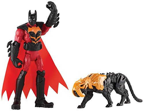 Batman Unlimited: Batman and Tiger Claw Action Figures