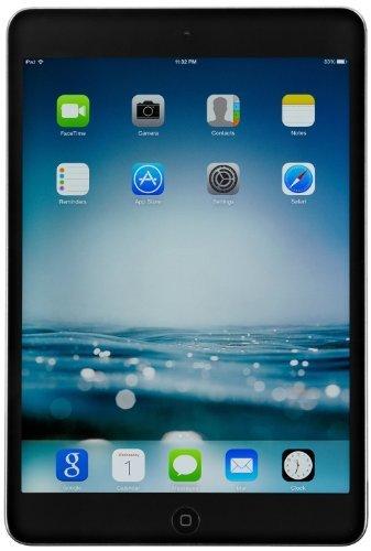 Apple iPad Mini 2 with Retina Display ME276LL/A (16GB, Wi-Fi, Black with Space Gray) (Certified Refurbished) (Ipad Mini Display Black compare prices)
