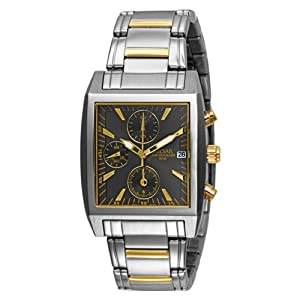 Pulsar Men's PF8145 Chronograph Two-Tone Stainless Steel Watch