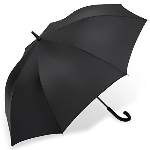 PLEMO 長傘 大きな傘 自動開けステッキ傘 紳士傘 耐風傘 撥水加工 梅...