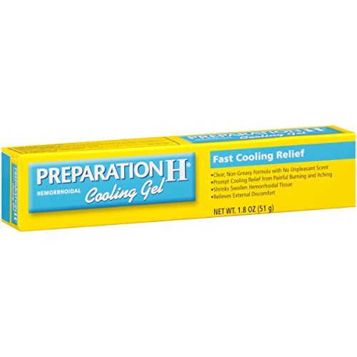 Preparation H Hemorrhoidal Cooling Gel (1.8 Ounce Tube)