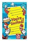Dr. Seuss Postcard Party Invitations…