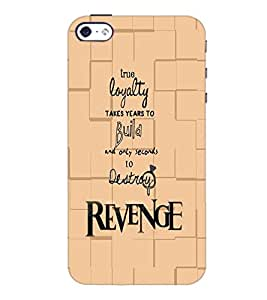 PrintDhaba Quote D-5935 Back Case Cover for APPLE IPHONE 4S (Multi-Coloured)
