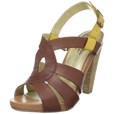 Seychelles Women's Squeak Ankle-Strap Sandal,Whiskey Leather,8.5 M US