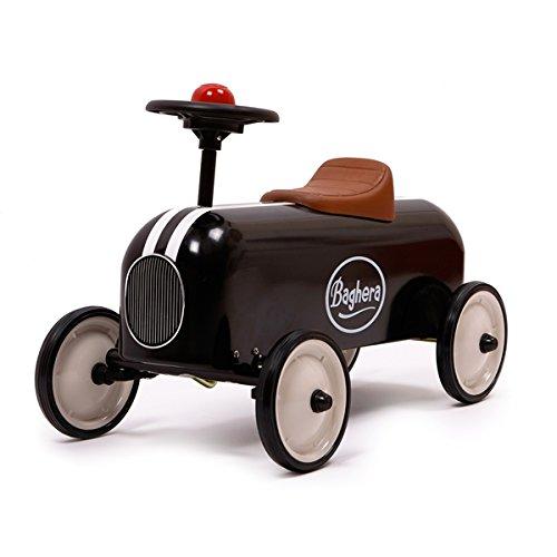 Baghera - 802 - Véhicule pour Enfant - Porteur Racer - Noir
