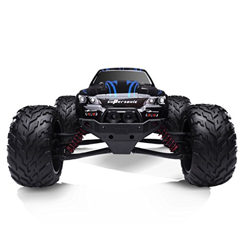 HOSIM 1/12 Scale Electric RC Car Offroad 2.4Ghz 2WD High Speed 33+MPH Remote Controlled Car (Color: Blue)
