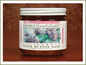 Honey California Black Button Sage - 1 Medium (9oz) Jar