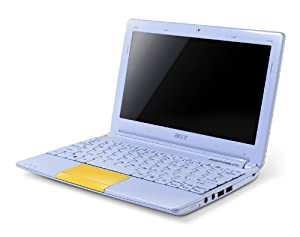 """Acer ASPIRE ONE HAPPY 2 - Netbook (10.1"""", 250 GB, 1024 MB de Memoria RAM, procesador Intel ATOM N570 ATOM) (Teclado español QWERTY)"""