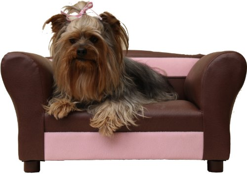 Fantasy Furniture Mini Sofa Sweet Brown Pet Bed