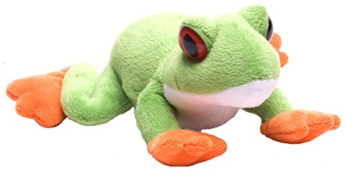 Wild Republic Hug Ems Red Eyed Tree Frog Plush Toy