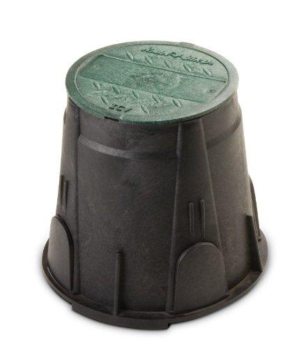 "Rain Bird VBRND7 - Round 7"" Green Sprinkler Valve Box  With Lid"
