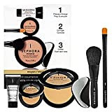 SEPHORA COLLECTION Buildable Cover Complexion Kit - Medium ($78 Value) Buildable Cover Complexion Kit - Medium