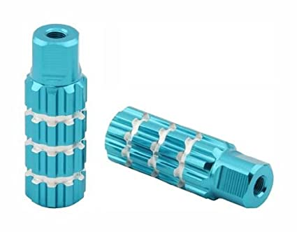 Bike Pegs Amazon Alloy Large Groove Bike Pegs