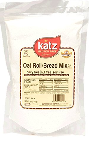 Katz Gluten Free Oat Roll/Bread Mix, 24 Ounce, Certified Gluten Free - Kosher - Dairy, Nut & Soy free - (Pack of 1) (Bread Reduced Calorie compare prices)