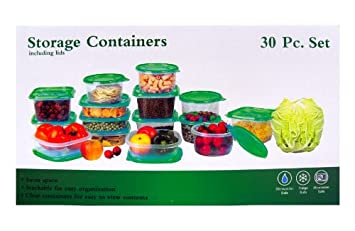 30-Pc.Storage Containers Set