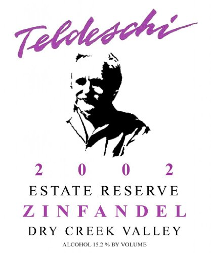 2002 Teldeschi Reserve Zinfandel, Dry Creek Valley 750 Ml