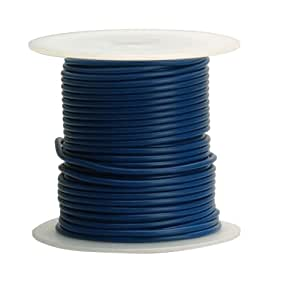 Coleman Cable 18-100-12 Primary Wire, 18-Gauge 100-Feet Bulk Spool, Blue
