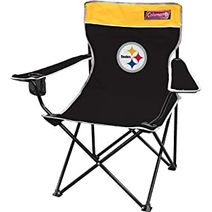 NFL Pittsburgh Steelers Coleman Folding Chair With Carrying Case