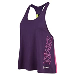 Buy Zumba Fitness Ladies Chill the Funk Out Racerback Athletic Top by Zumba Fitness