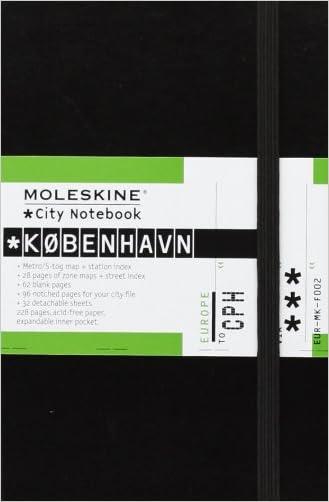 Moleskine City Notebook Kobenhavn (Copenhagen) (Moleskine City Notebooks)