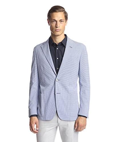 Corneliani Men's Gingham ID Jacket