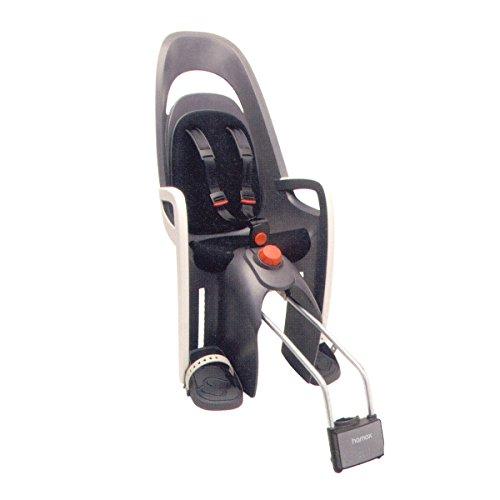 hamax-caress-w-ham553001-seggiolino-per-bicicletta-con-supporto-bloccabile-colore-grigio-bianco-nero