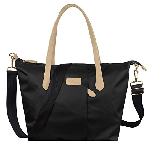 Ecosusi <strong>Women< strong> Multifunction Nylon Tote <strong>Bag< strong> Designer Handbag