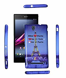 Fuson Premium Smooth Silicon Back Cover For SONY XPERIA C3-D3