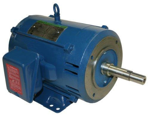 A.O. Smith Tcp71030 5 Hp, 1735 Rpm, 200-230/460 Volts, Three Phase, 184Jm Frame, Tefc Enclosure, Ball Bearing Closed Coupled Pump Motor
