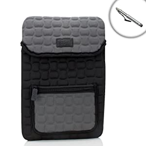 FlexARMOR X Protection Padded Neoprene Sleeve Carrying Case Cover for Razer Edge Pro (RZ09) 10.1-inch Gaming Tablet & Portable PC - Includes Capacitive Stylus