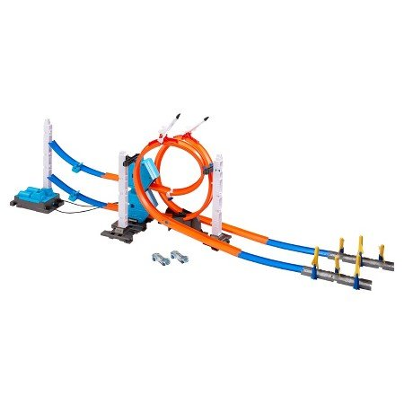 Hot Wheels Track Builder 3 Power Booster Kit: Rocket Edition (Power Wheel For 5 Year Old compare prices)