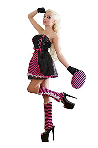 Ylina Womens Sexy Halloween Party Pirate Costume Fancy Queen Cosplay Dress