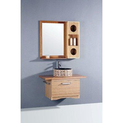 Legion Furniture Bamboo 36 in. Single Bathroom Vanity Set