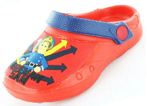 Boys Kids Fireman Sam Cartoon Character Casual
