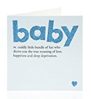 Baby Boy Birthday Card