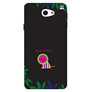 Never Grow Up - Mobile Back Case Cover For Samsung Galaxy On 7 (2016)