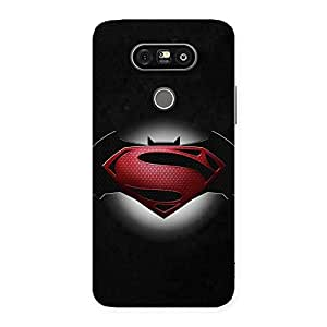 Gorgeous Premier Knight Vs Day Multicolor Back Case Cover for LG G5